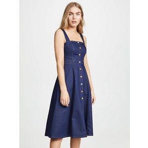 Shoshanna Olevia Denim Button Dress